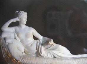 Bức tượng nổi tiếng của Antonio Canova ở Roma